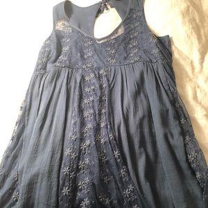 Dark Blue Abercrombie Dress